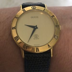 Vintage Gucci 3000m watch